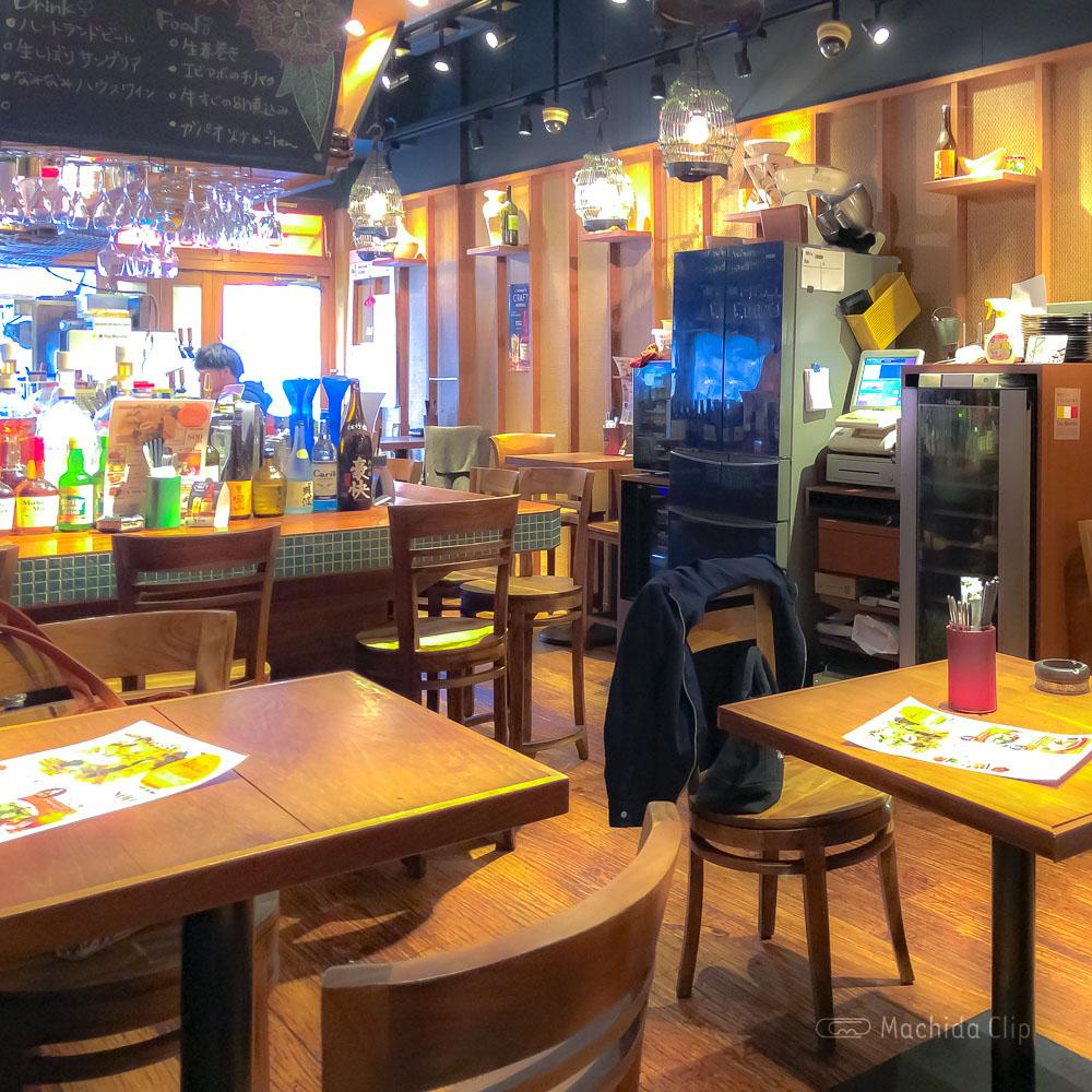 アガリコマサール 町田店の店内の写真