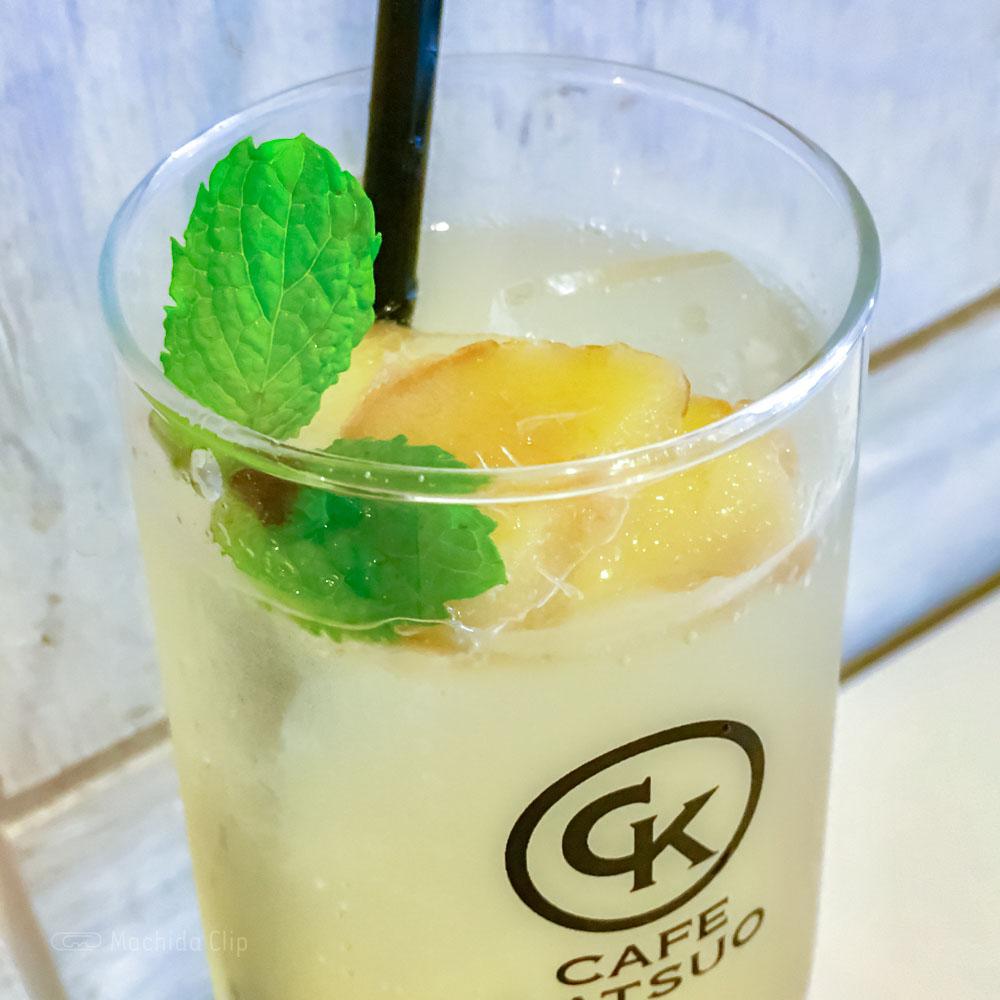 CAFE KATSUO(カフェ カツオ)の「自家製ハニージンジャー」の写真