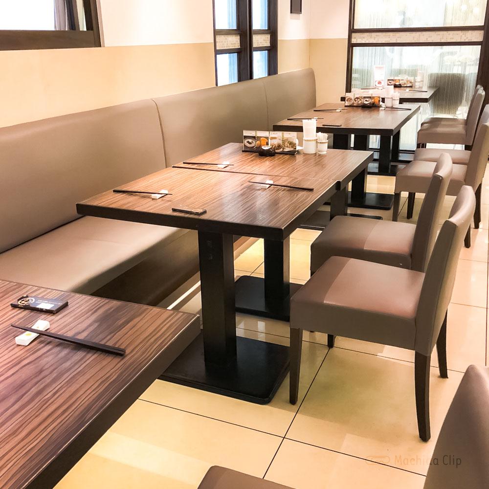中国名菜 銀座アスター プティシーヌ町田の店内の写真