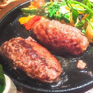 いしがまやハンバーグ 町田東急ツインズ店の「プレミアムハンバーグステーキランチセット」の写真
