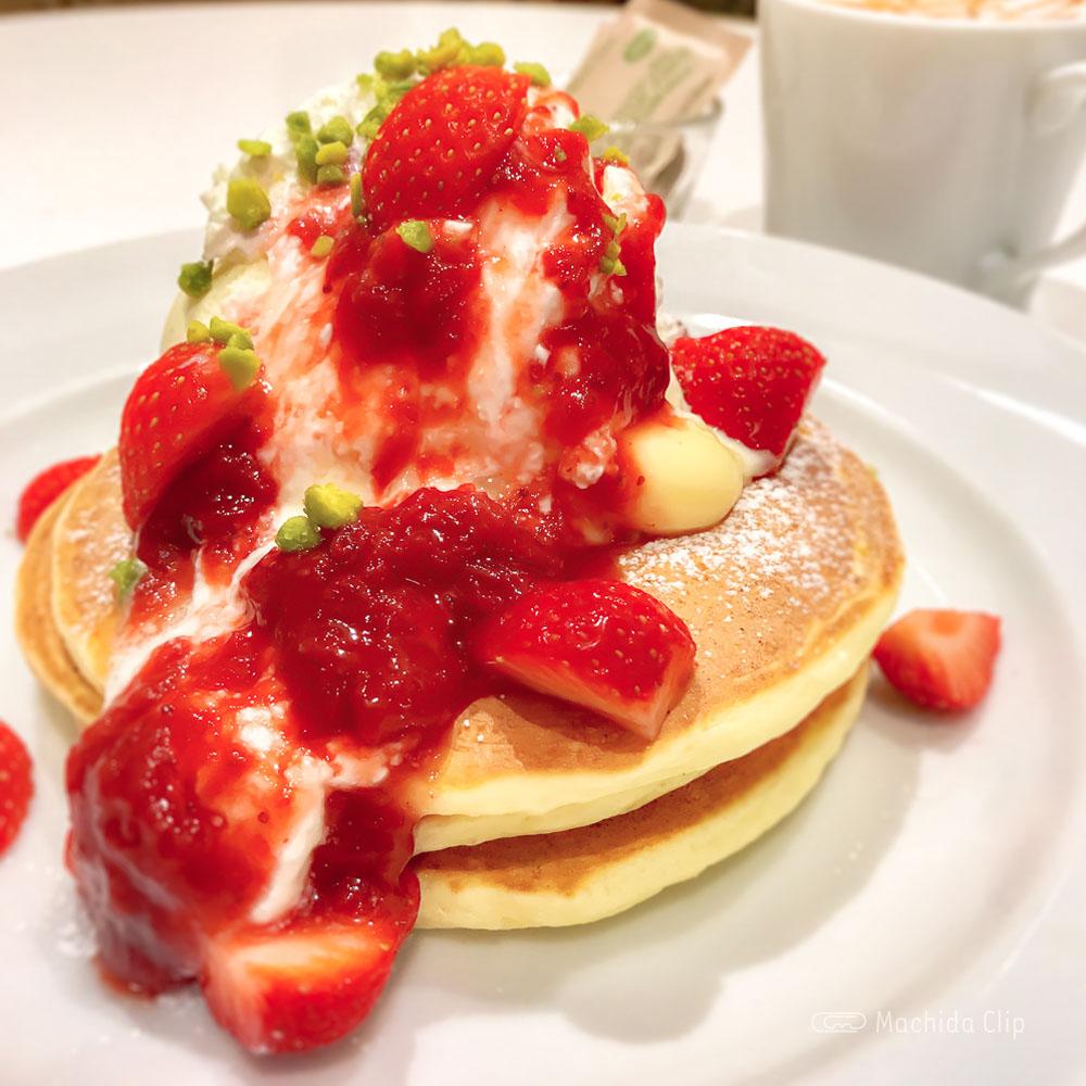 「J.S. PANCAKE CAFE 町田モディ店」パンケーキで写真映え!期間限定のメニューやバースデープレートの写真