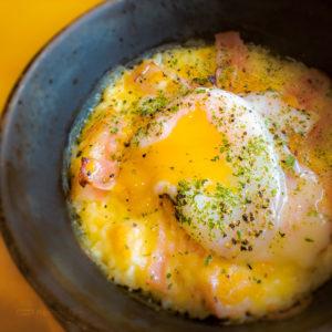 神戸元町ドリア 町田東急ツインズ店の「ベーコンと卵のカルボナーラ風ドリア」の写真