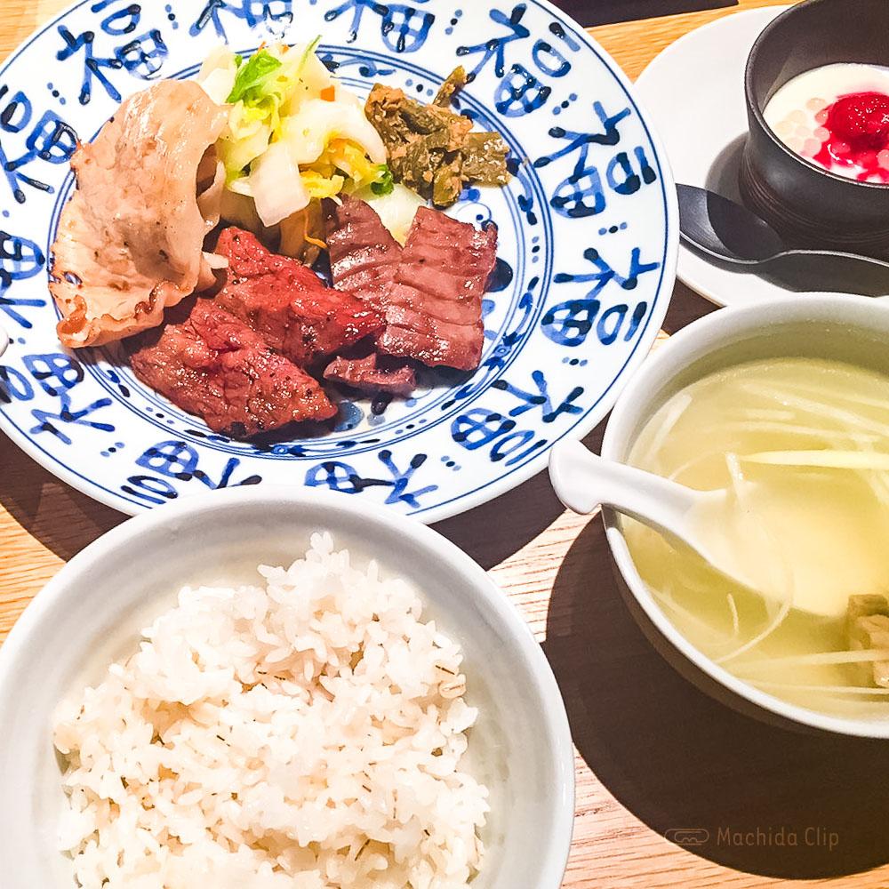 肉匠の牛たん たん之助 町田モディ店の「レディースセット」の写真