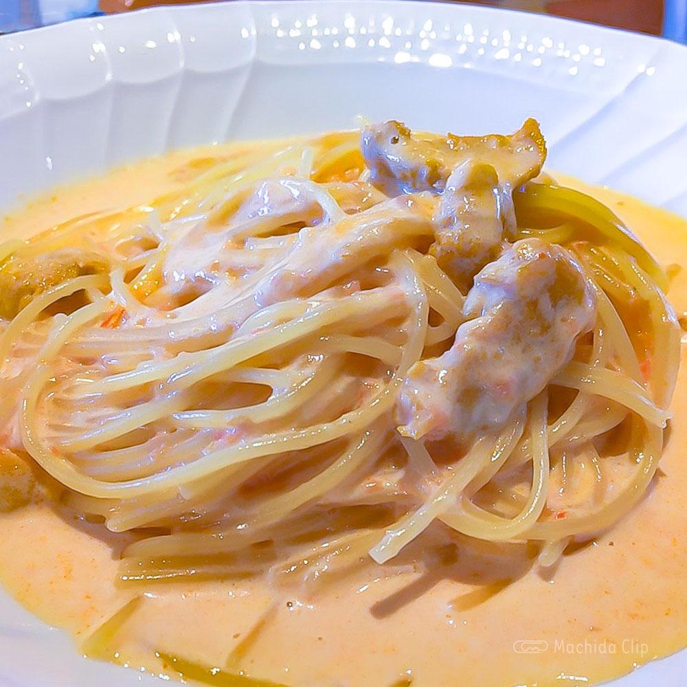 TERRA MAGICA(テラマジカ)の「ウニのクリームソース スパゲッティ」の写真