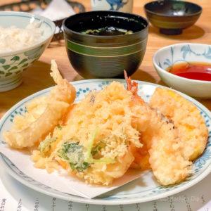 天ぷら 新宿つな八 町田店の天ぷらの写真
