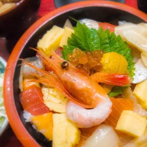 『uogashi mifune』 みふね 町田の「魚河岸丼」の写真