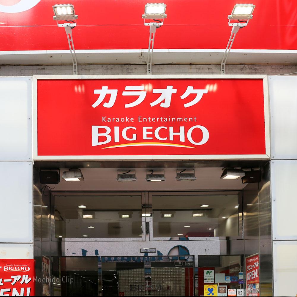 ビッグエコー 小田急線町田駅前店の看板の写真