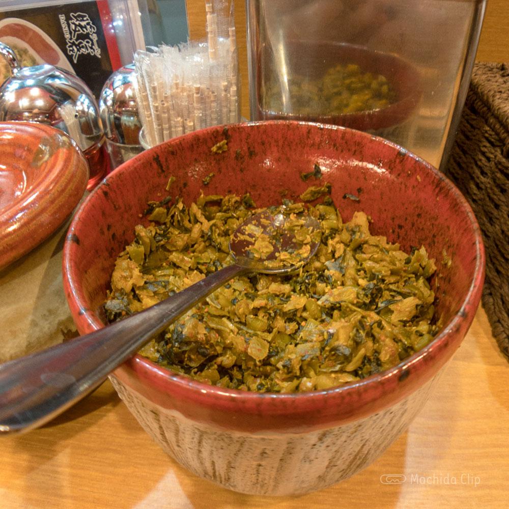 ラーメン暖暮 町田店の「高菜」の写真