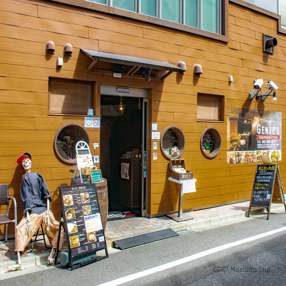 ジーニーズ 町田店の入り口の写真