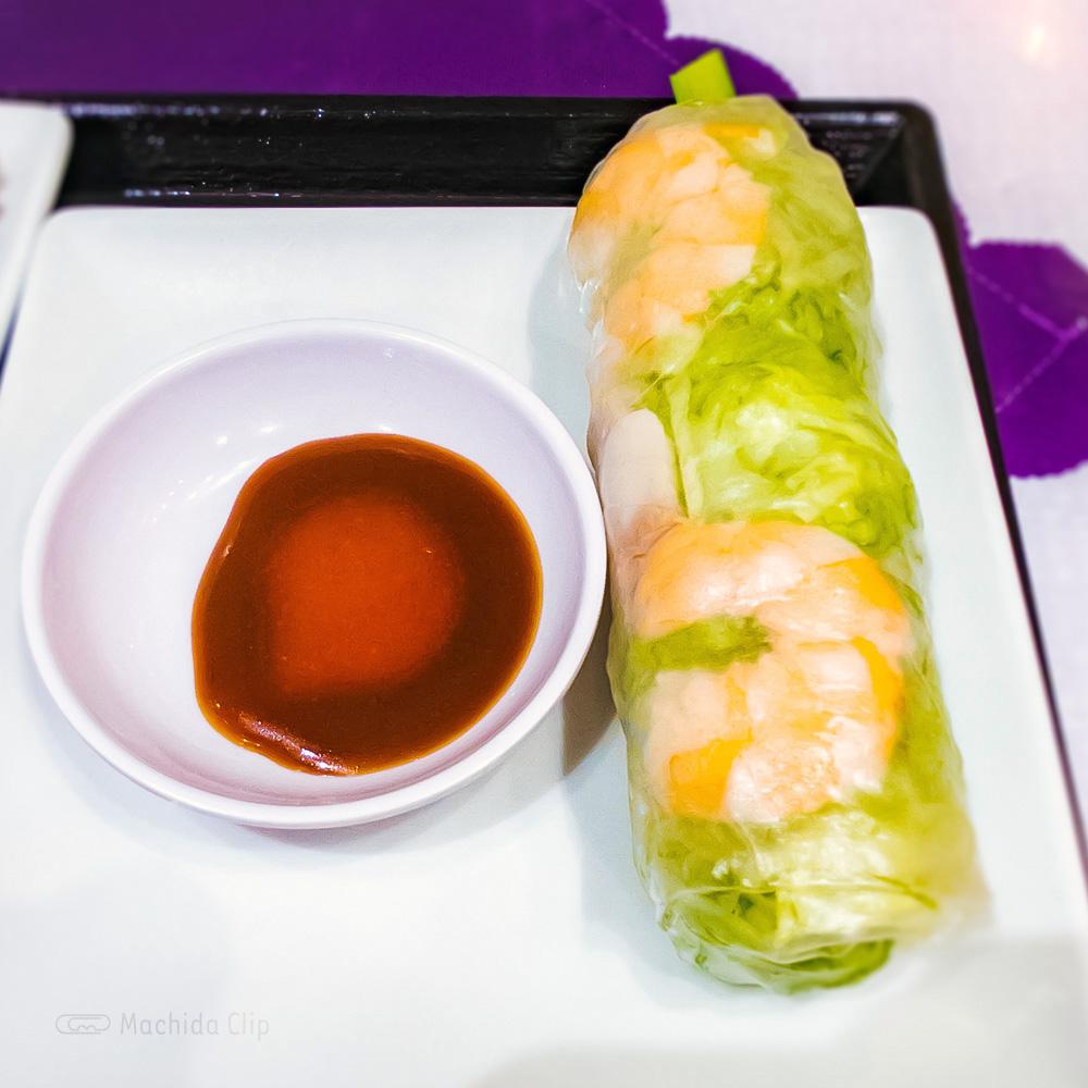 ベトナムリゾートレストラン HaNoi Machi(ハノイマチ)の「海老の生春巻」の写真
