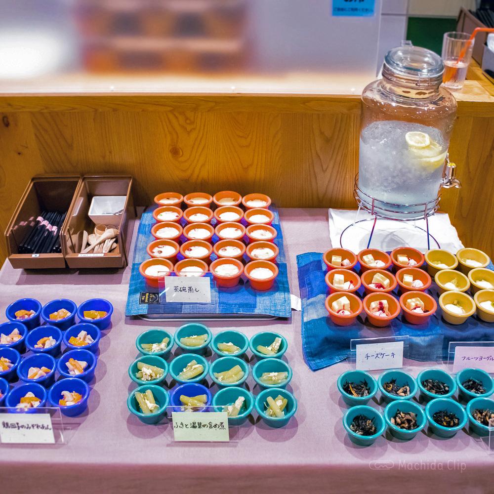 家カフェおたま 町田モディ店の小鉢の写真