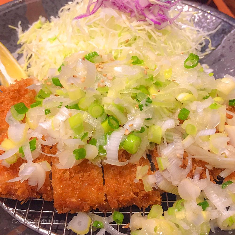 とんかついなば和幸 小田急町田店の「ねぎ塩ロースかつ定食」の写真