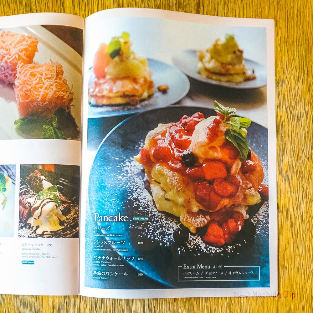 LATTE GRAPHIC(ラテグラフィック) 町田店のパンケーキの写真