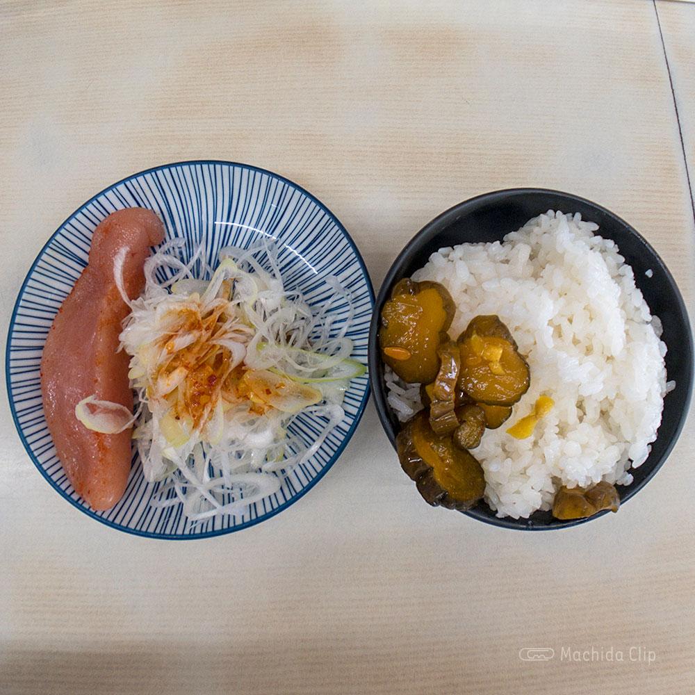 町田家 町田本店の「めんたいこセット」の写真
