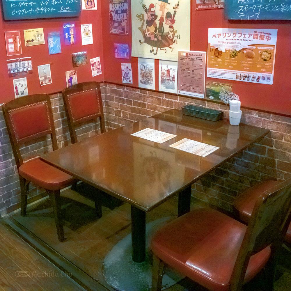 OSTERIA DECO(オステリアデコ)のテーブル席の写真