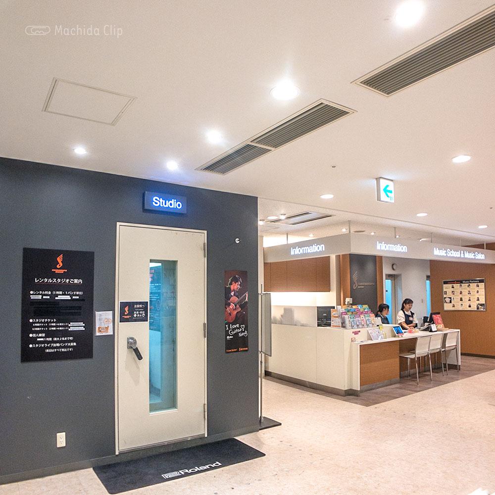 島村楽器 レンタルスタジオ ミーナ町田店の入り口の写真