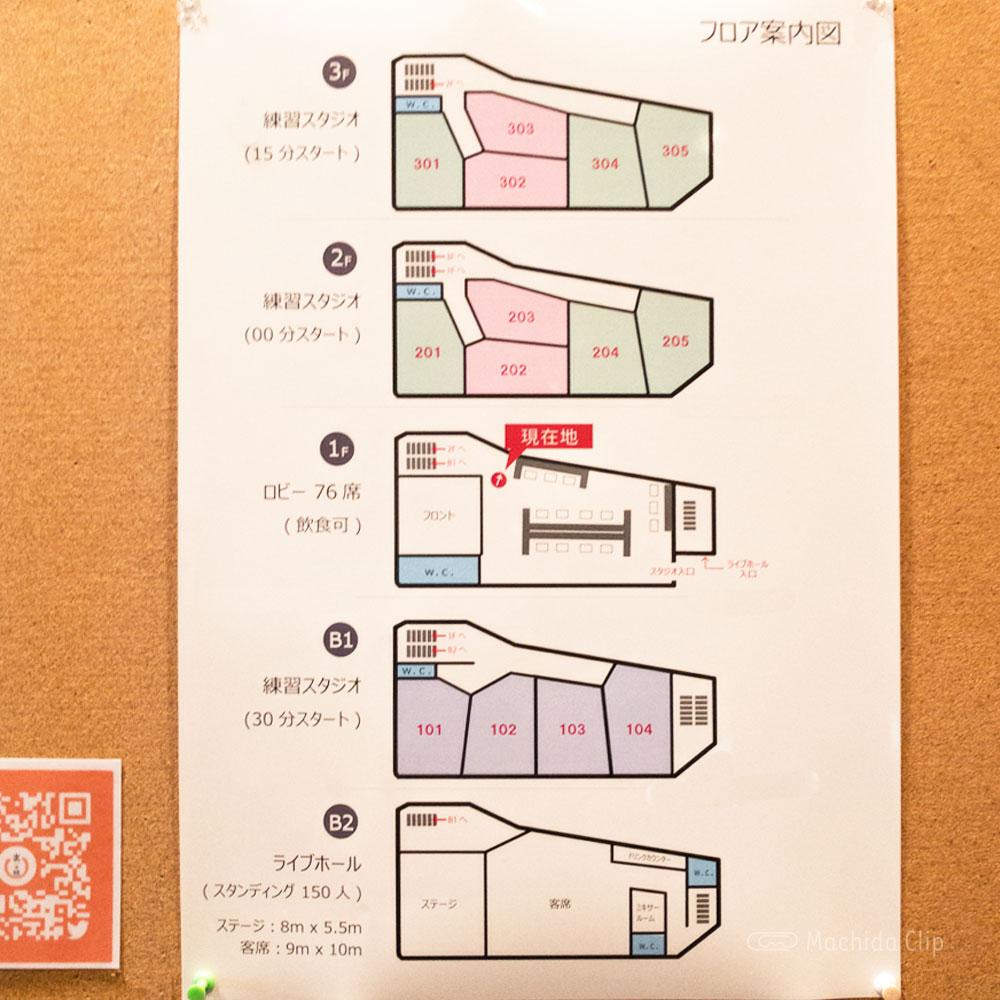 スタジオアクト 町田店のフロアマップの写真