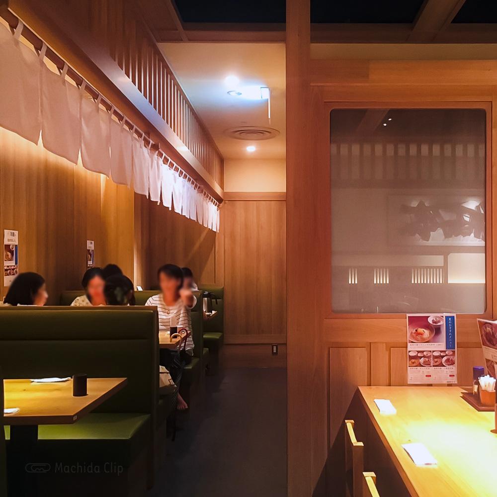 肉匠の牛たん たん之助 町田モディ店の店内の写真