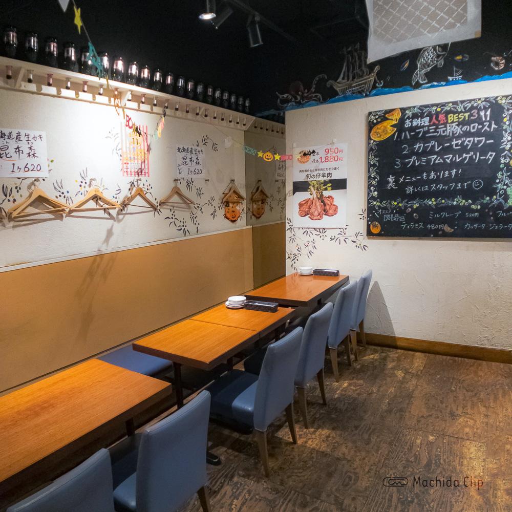 チャオベッラ 町田の店内の写真