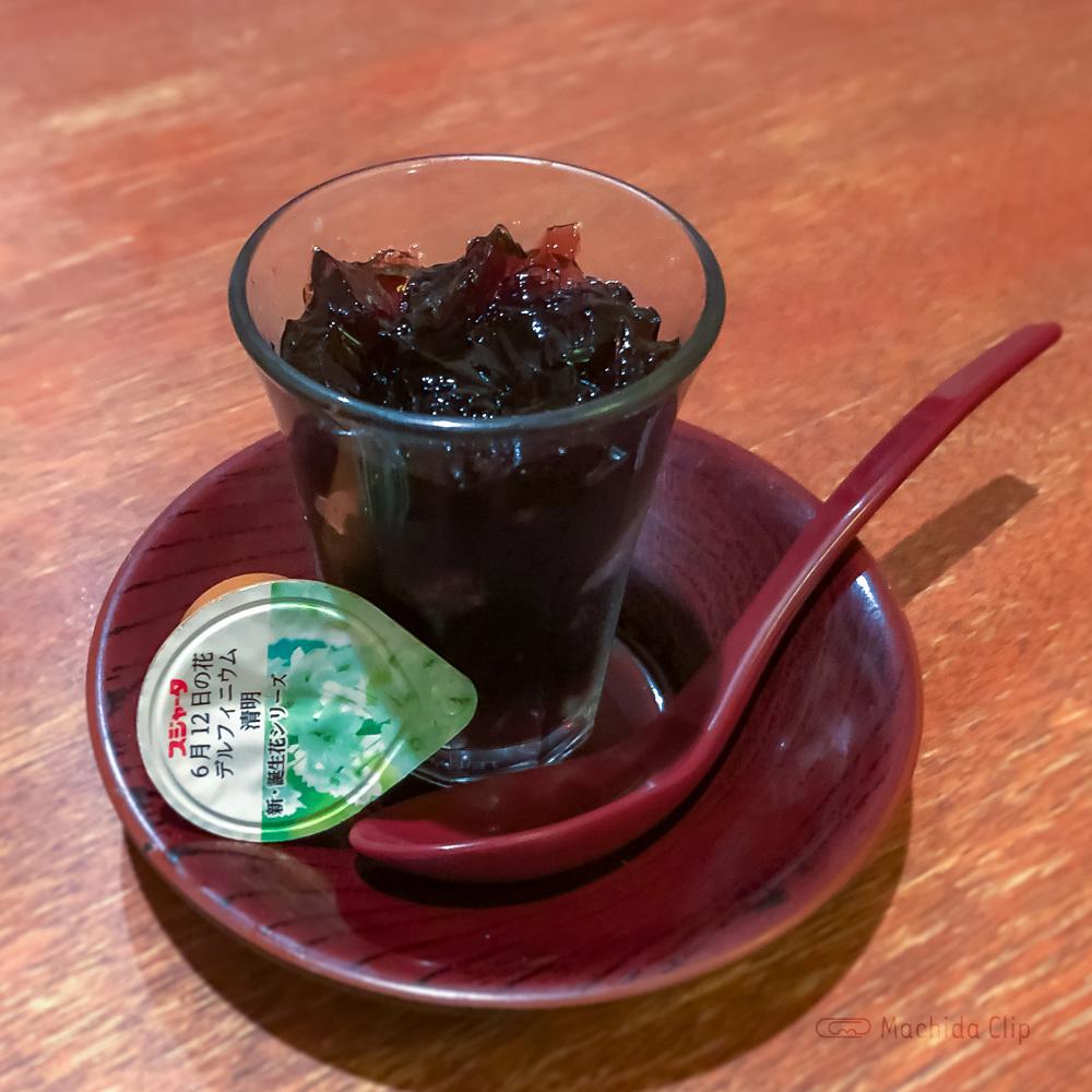 いろは寿司の「コーヒーゼリー」の写真
