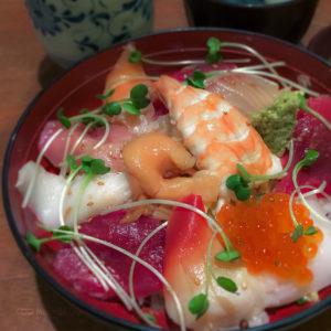 いろは寿司の「海鮮丼」の写真