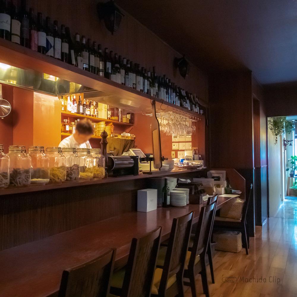 Trattoria Beare ベアーレのオープンキッチンの写真