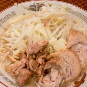 「ラーメン豚山 町田店」二郎インスパイア系ラーメン店のメニューや注文方法の写真
