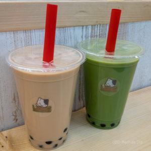 「猫猫茶 町田店」(まおまおちゃ)本格ミルクティーとこだわりの黒糖タピオカの写真