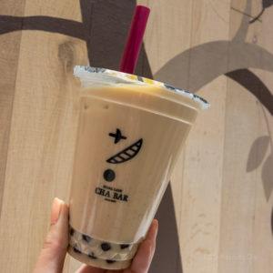 「パールレディ 茶BAR 町田マルイ店」ほうじ茶ラテが人気のタピオカドリンク専門店の写真