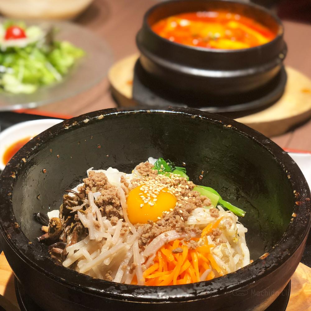 韓国家庭料理 チェゴヤ 町田東急ツインズ店のビビンバの写真