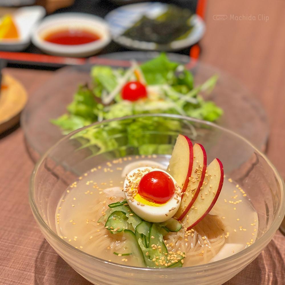 韓国家庭料理 チェゴヤ 町田東急ツインズ店の冷麺の写真