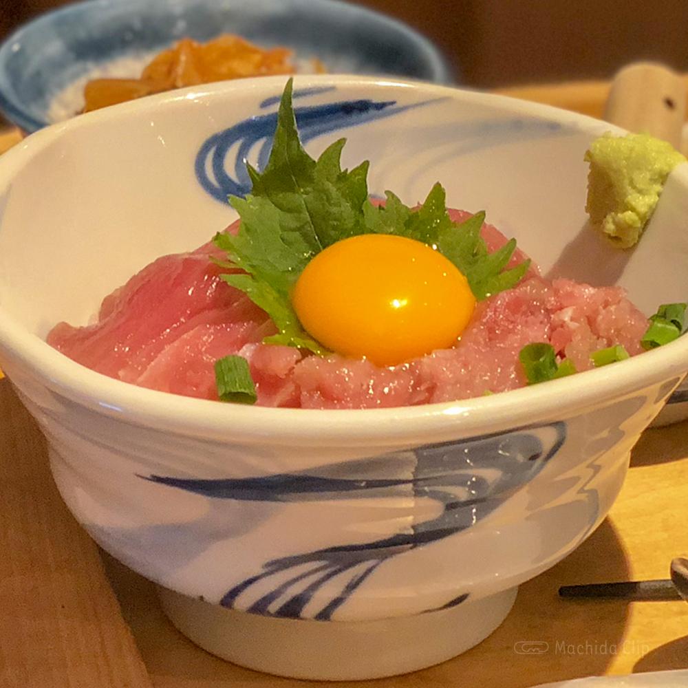 いまがわ食堂の「三崎まぐろ丼」の写真