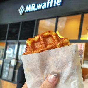 ミスターワッフル(MR.waffle )のワッフルの写真