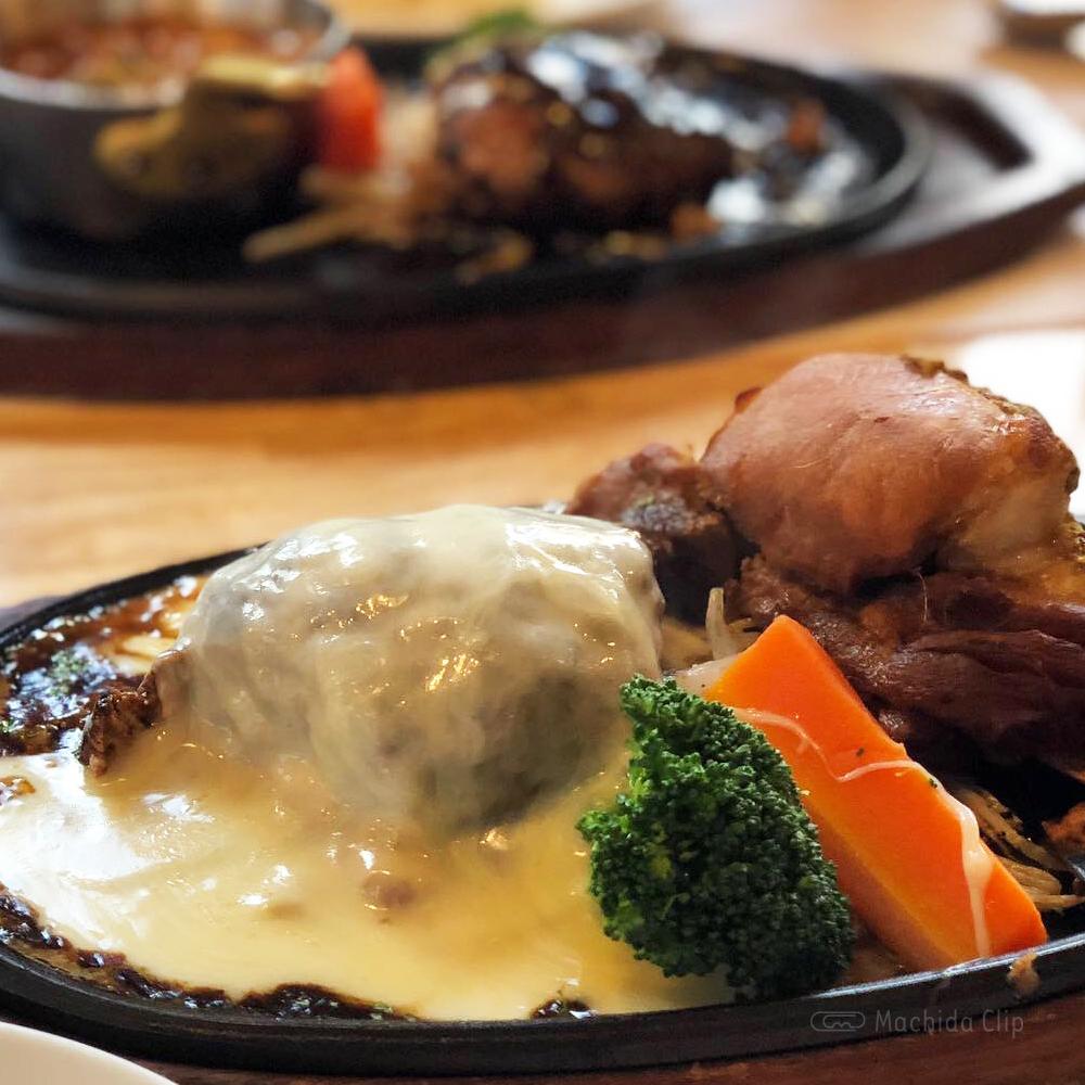 肉ダイニング 鉄重 町田店のハンバーグの写真