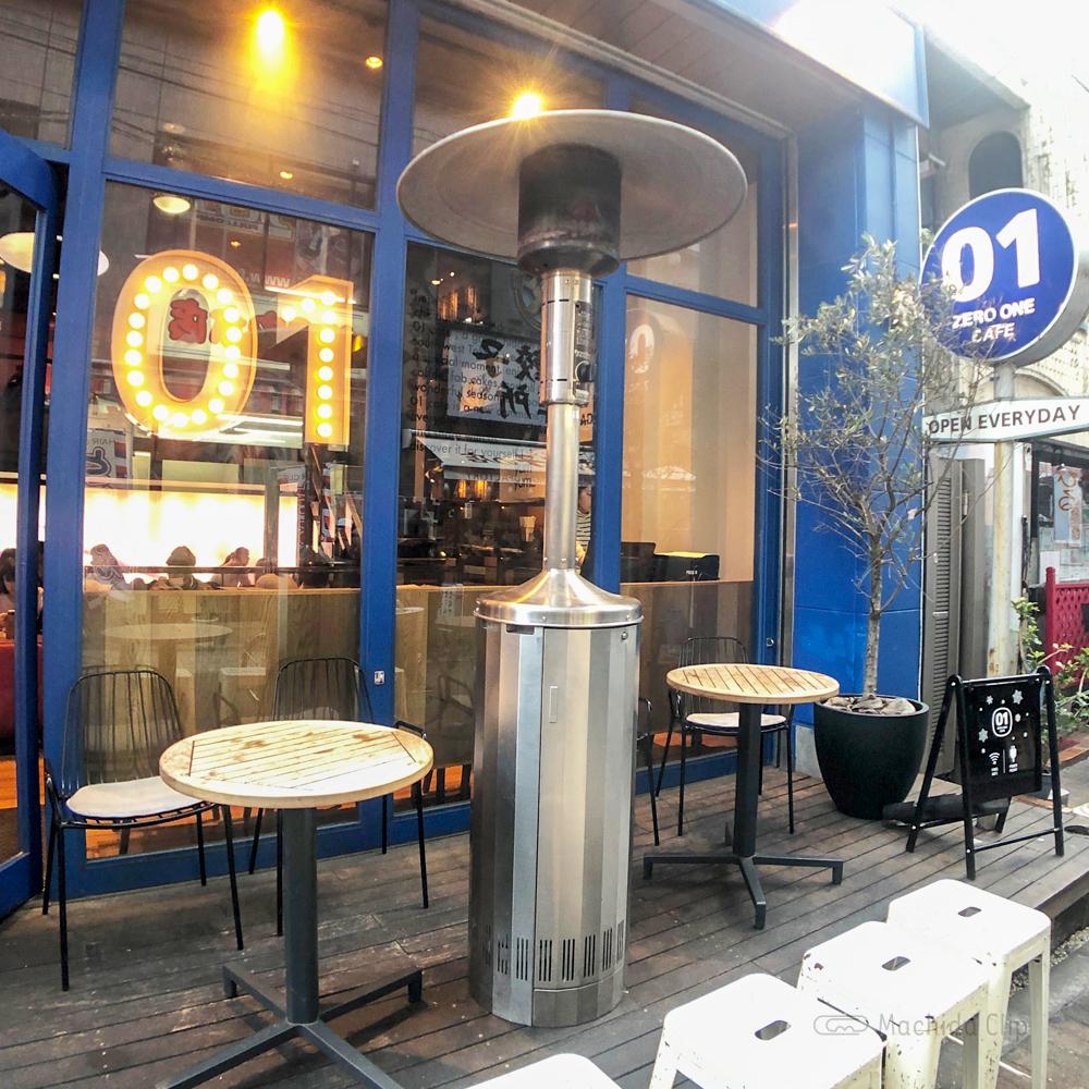 ZERO ONE CAFE(ゼロワンカフェ)のテラスの写真