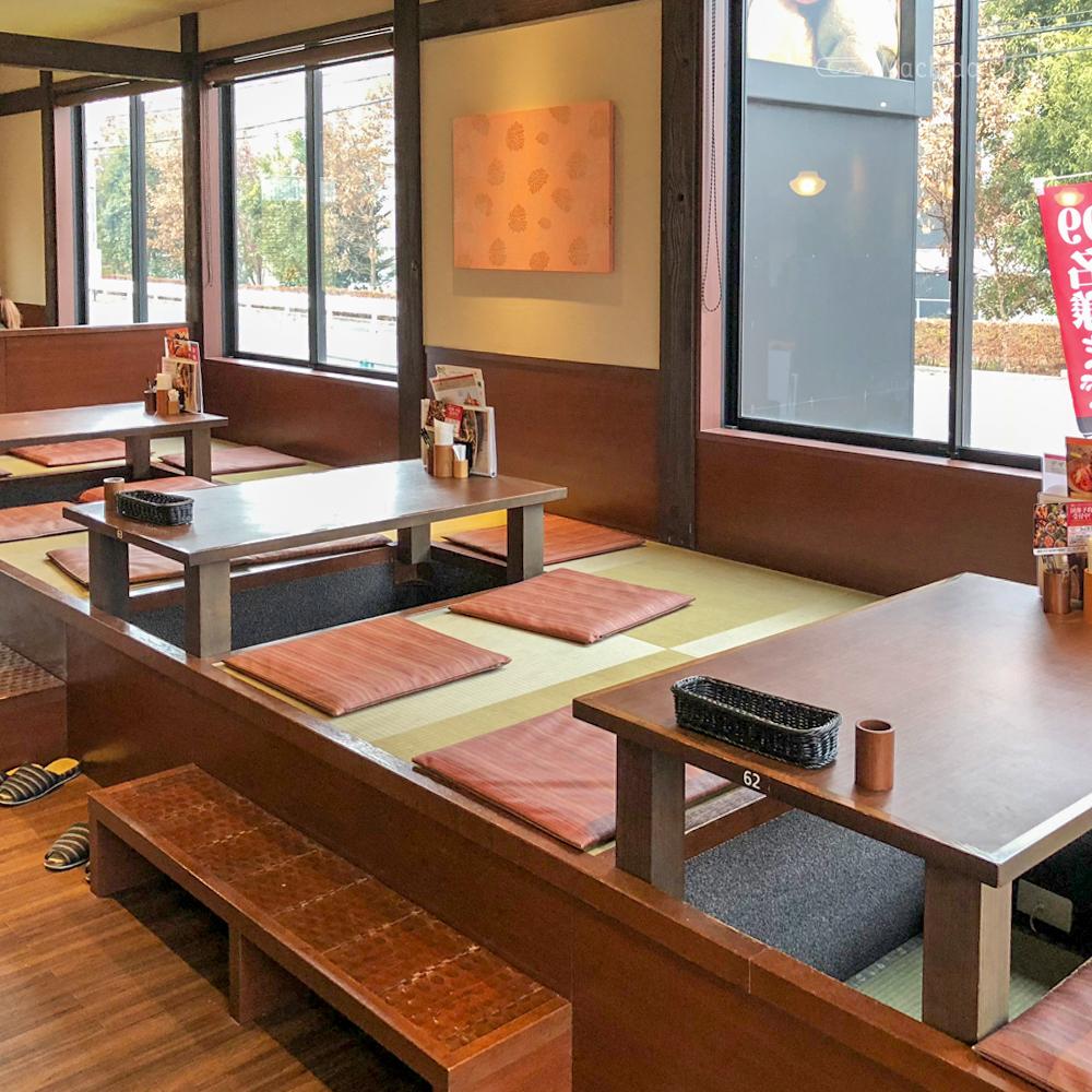 鎌倉パスタ 桜美林学園前の店内の写真