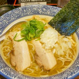 【閉店】「麺匠なべすけ 本店」町田駅近く、深夜24時まで営業!煮干しラーメン屋さんのオススメメニューの写真