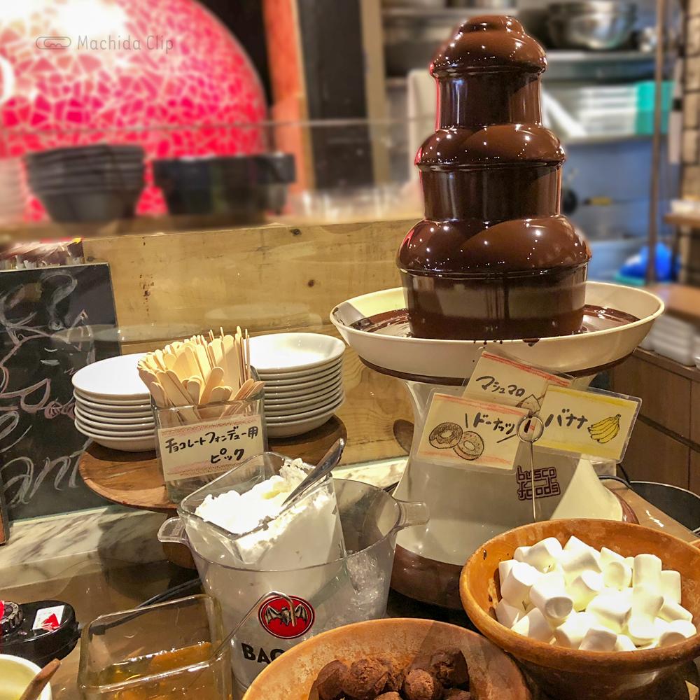 サルヴァトーレ クオモ 町田のチョコレートフォンデュの写真
