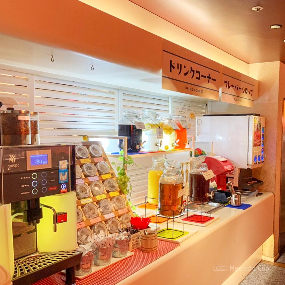 スイーツパラダイス 町田モディ店のドリンクバーの写真
