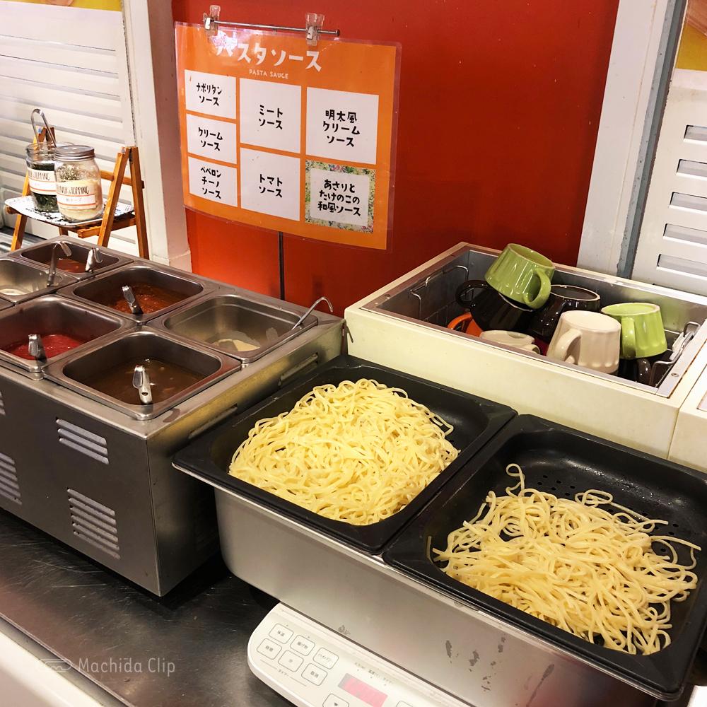 スイーツパラダイス 町田モディ店のパスタの写真