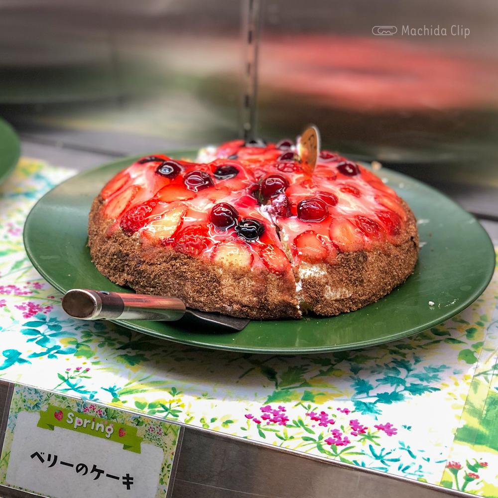 スイーツパラダイス 町田モディ店のベリーのケーキの写真