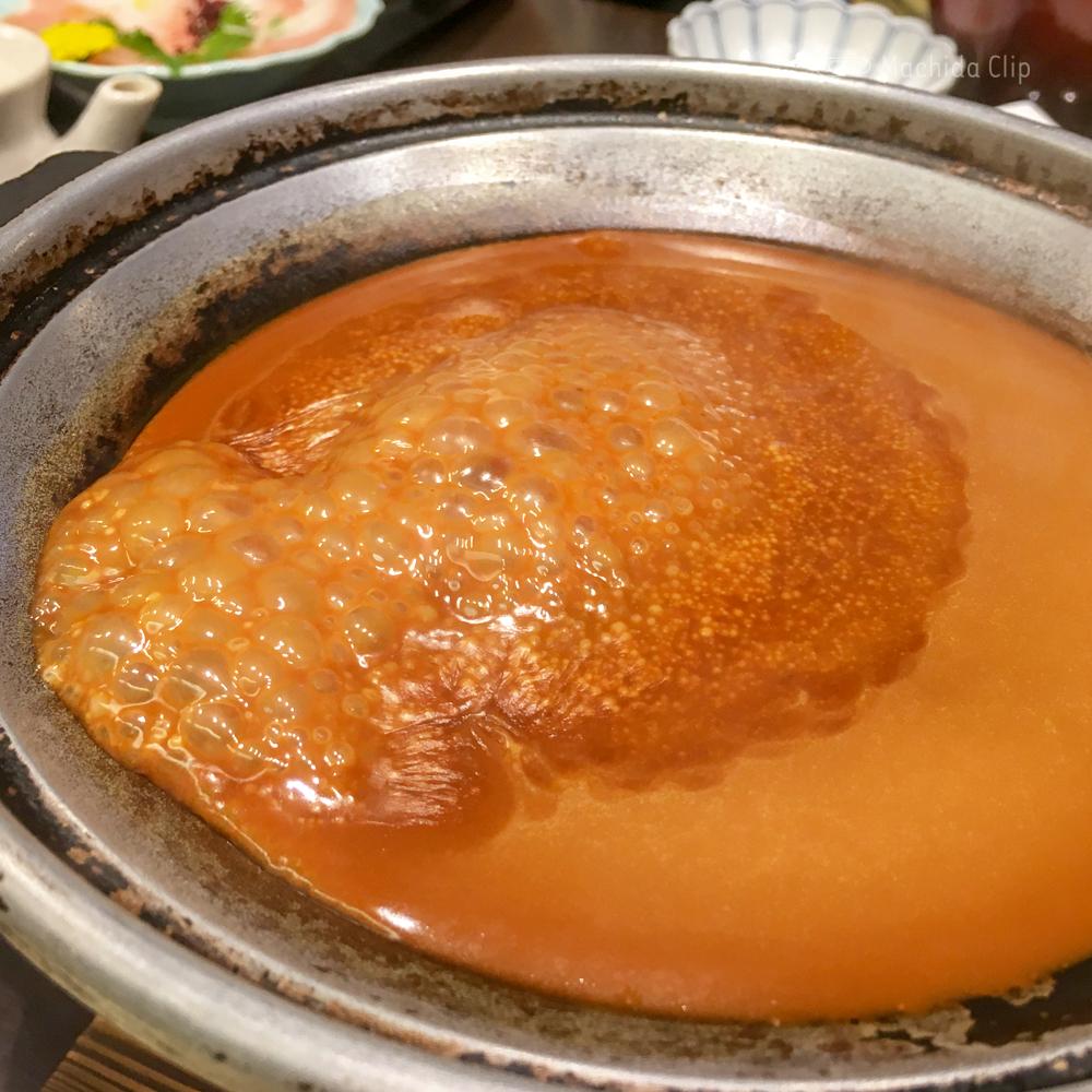 醤油料理 天忠焦がしチーズフォンデュの写真