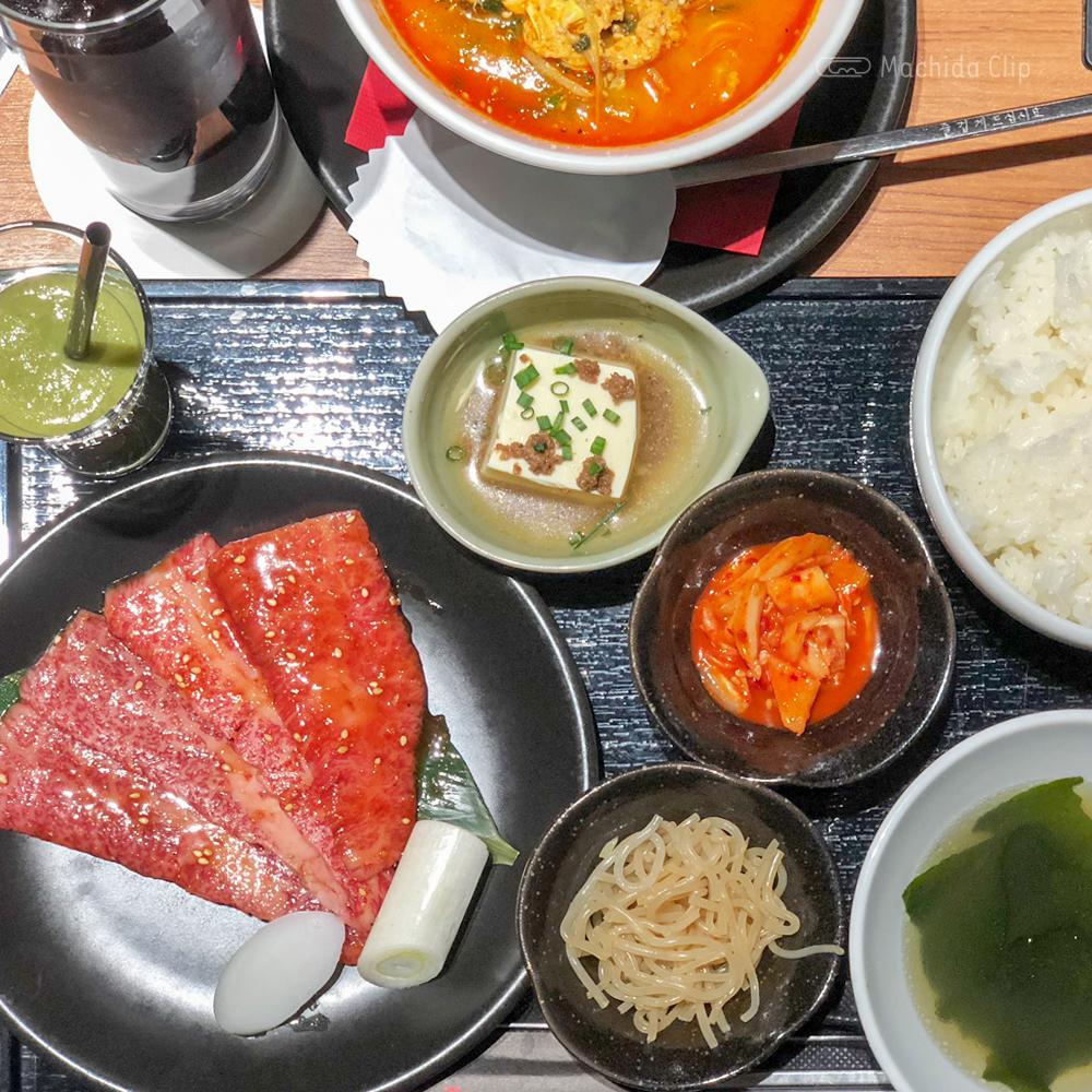 焼肉トラジ 町田店のプリフィックスランチの写真