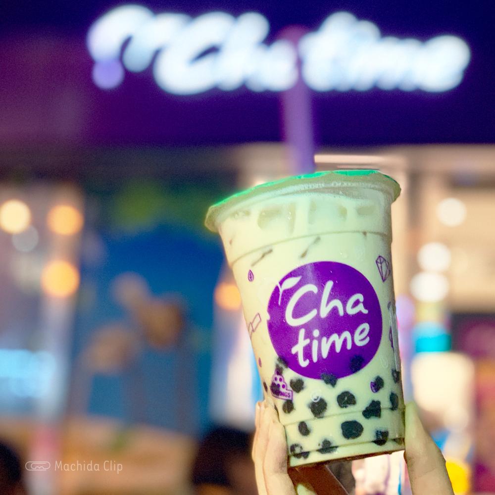 chatimeのほうじ茶ミルクティーの写真