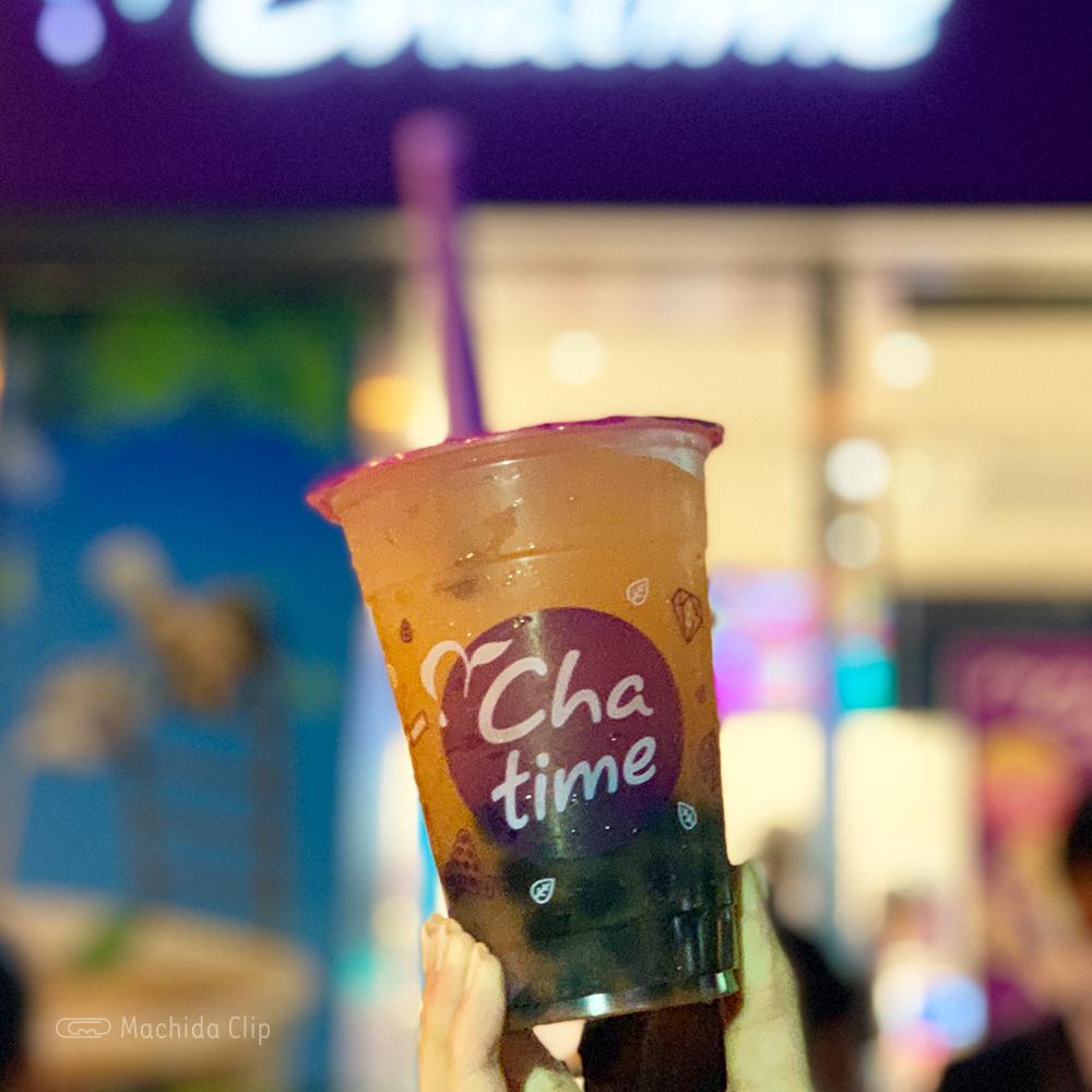 chatimeのグレープフルーツジュースの写真