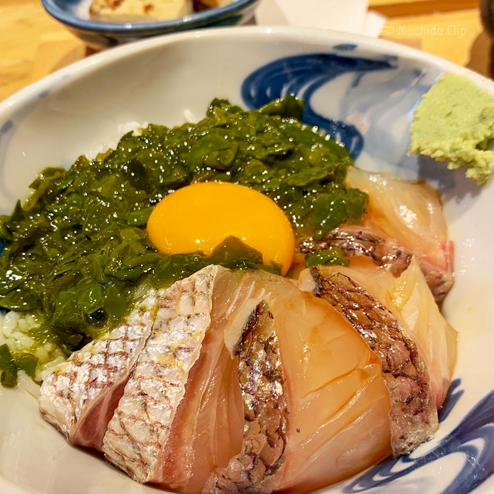 いまがわ食堂の桜鯛の贅沢海かけ丼の写真