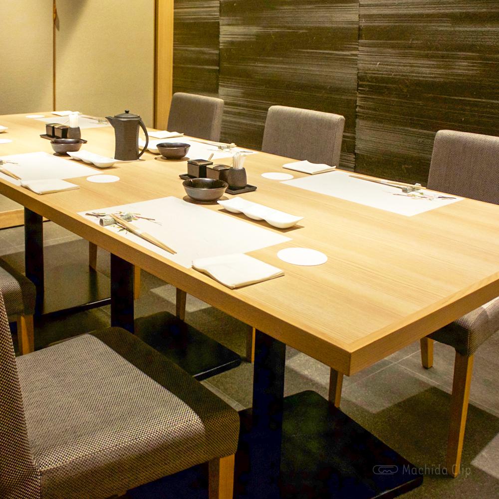 天麩羅・しゃぶしゃぶ・会席 中津川の個室の写真
