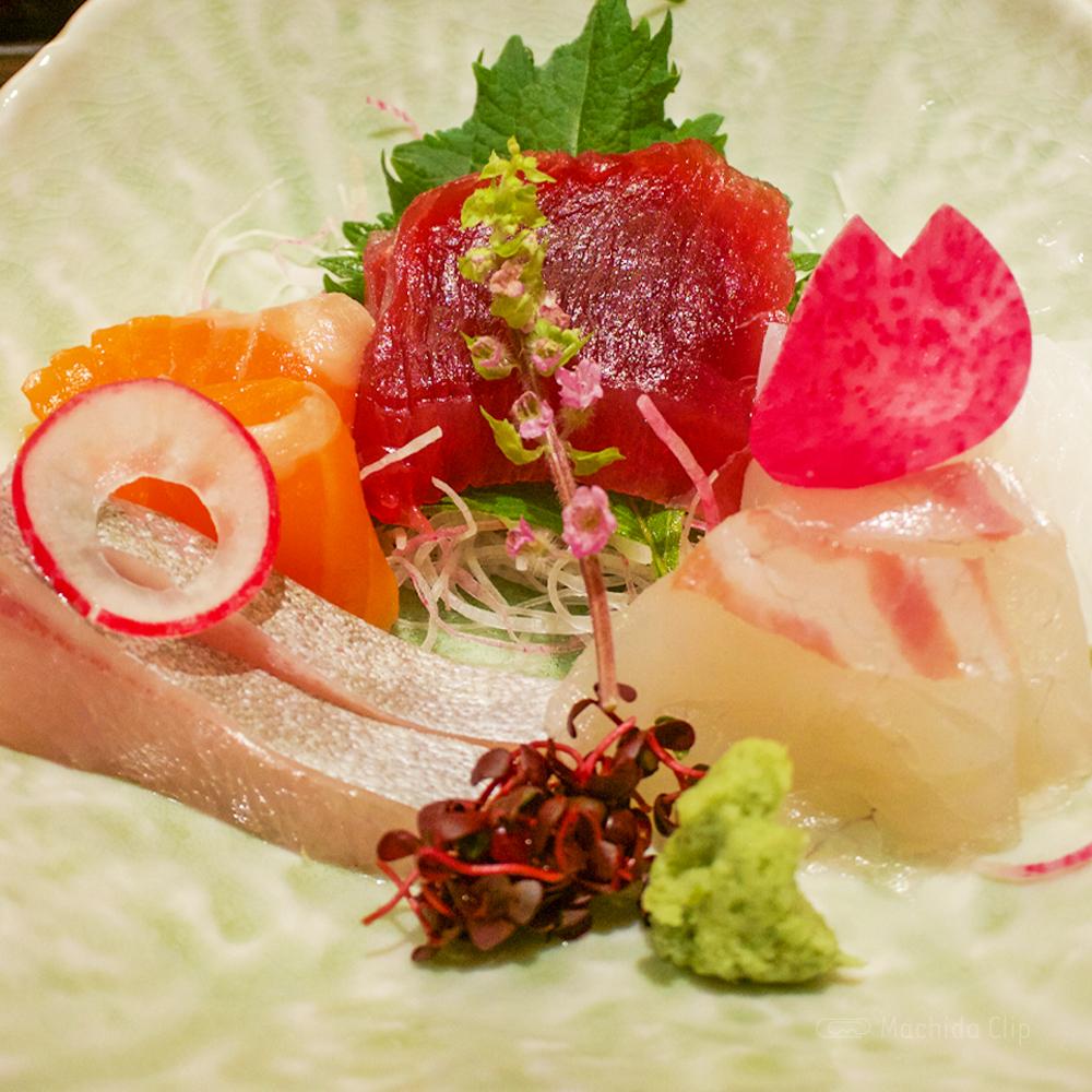 天麩羅・しゃぶしゃぶ・会席 中津川の天ぷらお造り膳の写真