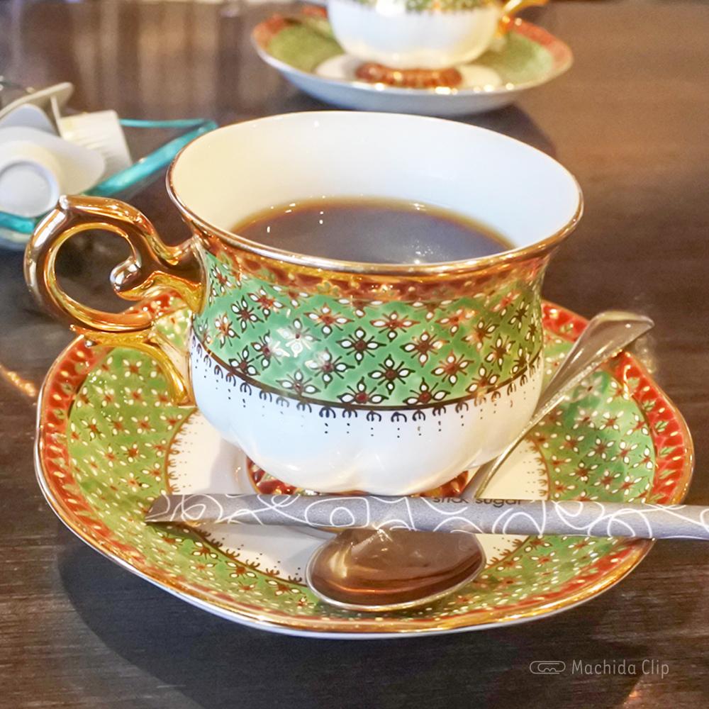 鉄板焼き 蘭麻 らんま 町田店のランチコーヒーの写真