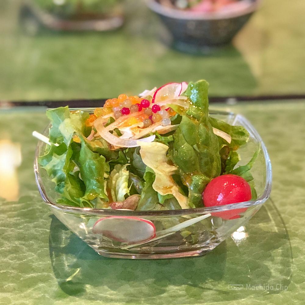 鉄板焼き 蘭麻 らんま 町田店のサラダの写真